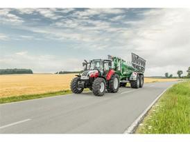 Steyr Multi 4120 Transport On Road