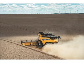 CR10 Revelation Combine with the Optispread Plus™ residue management system