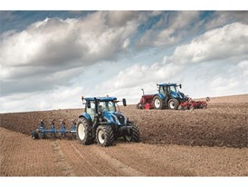 New Holland T6 175 tractors with Dynamic Command Powershift transmission