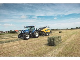 New Holland BigBaler 890 Plus CropCutter will feature the EVO NIR advanced sensor