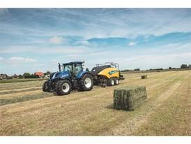 New Holland BigBaler 890 Plus CropCutter will feature the EVO NIR advanced sensor