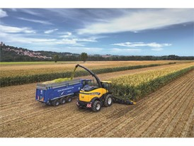 New Holland Agriculture's FR920 working in the field