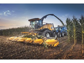 Efficient transfer of the FR920's high power with the new heavy-duty driveline