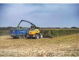 New Holland Agriculture new top end Forage Cruiser, the FR920