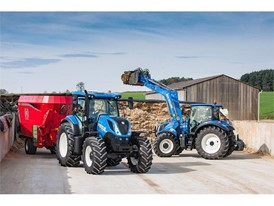 New Holland Tractors with CustomSteer