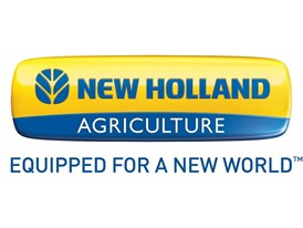 New Holland Agriculture - Equipped for a New World Logo