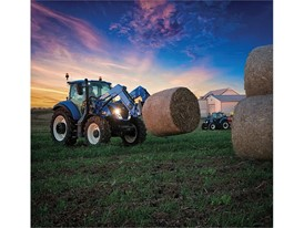 New Holland Tractor Bale Transport