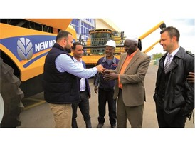 New Holland Agriculture has recently delivered its 45th combine harvester in 2017 to Ethiopia