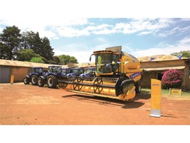 New Holland Agriculture has delivered 6 units of New Holland branded T6080 Cab tractor and 2 units of New Holland TC5.80