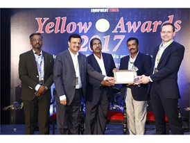 CASE wins triple recognition at Equipment Times Yellow Dot Awards in India