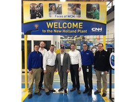US Congressman Smucker Visits New Holland North America Headquarters