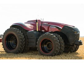 The Case IH autonomous concept tractor first debuted in August 2016