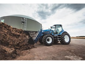 New Holland's Methane Powered Concept Tractor