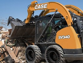 CASE SV340 Skid Steer Loader with Michelin Tweel