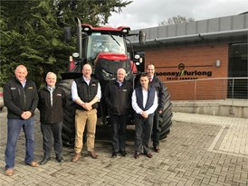Case IH appoints the Cooney Furlong Machinery Company as dealer for Wexford, Wicklow and Carlow.