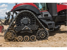 "Magnum CVT Rowtrac 380 features the innovative ""Rowtrac"" option"