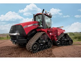 Productivity shines as Case IH tweaks track-technology leader