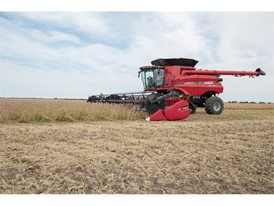 The new Axial-Flow 240 series combine with draper header