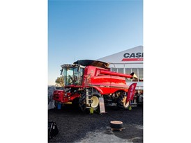 Case IH Axial-Flow at AgQuip