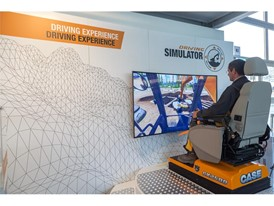 A Driving Simulator Contest will be held at the CASE stand