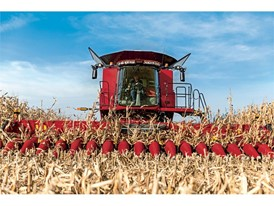 The expanded 4400 series corn header lineup offers completely redesigned narrow row configuration options