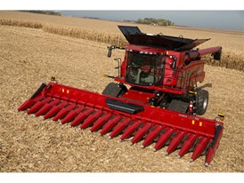 The expanded 4400 series corn header lineup features chopping and nonchopping configurations