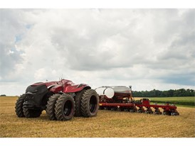 The Autonomous Tractor Concept from Case IH
