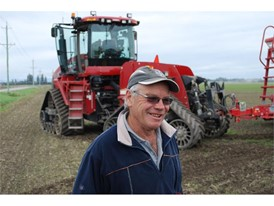 Eric Watson, owner of the family farm where the Axial-Flow 9230 achieved its record-setting yield