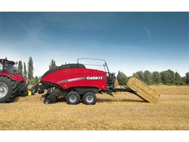Case IH Large Square Baler 434 in the field