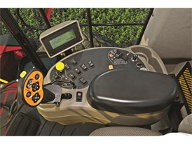 Case IH Windrower Control Panel