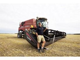 凯斯农业机械打造小麦收获世界纪录