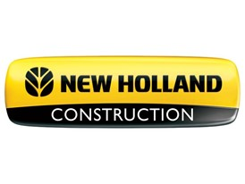 New Holland Construction 3D logo