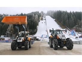 Steyr have been working in Kulm to ensure the smooth running of the World Ski Jumping Championship
