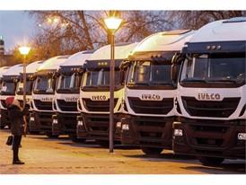 Крупный российский перевозчик ТКФ «Кама Тракс» пополнил автопарк седельными тягачами IVECO Stralis