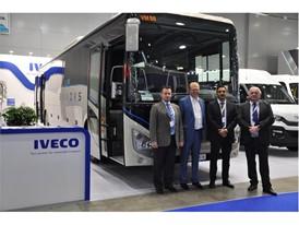 Компания IVECO представила современные решения в области пассажирских перевозок на Международной выставке коммерческого автотранспорта COMTRANS- 2017.