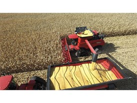 Axial-Flow 9240 harvesting corn