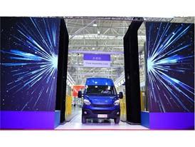 Во время церемонии открытия компания NAVECO также отпраздновала сход с конвейера первого экземпляра Нового China Daily.