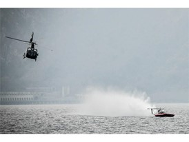 The record was broken on Wednesday March 7th on Lake Como, Italy