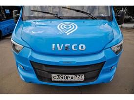 Парк «Автолайна» пополнился городскими маршрутками Iveco Daily синего цвета