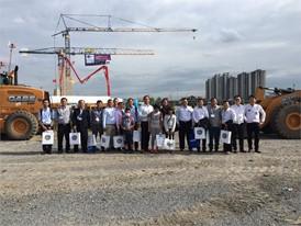 CASE representatives at INTERMAT 2017