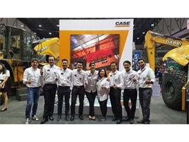 CASE Construction Equipment celebrates success at INTERMAT ASEAN 2017