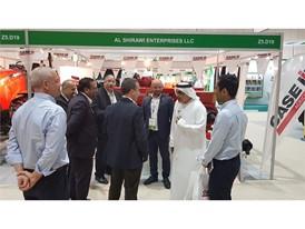 Case IH at AgraME 2018 in Dubai