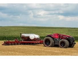 Бренд CNH Industrial представил концепт автономного трактора