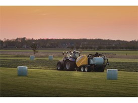 New Holland's new Roll Baler 125