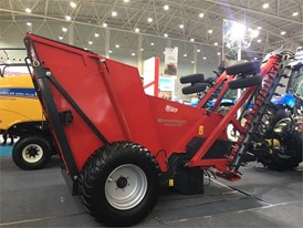 New Holland shows Kongskilde-brand products for first time at CIAME 2017