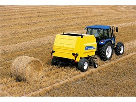 New Holland Agriculture BR6090 Round Baler