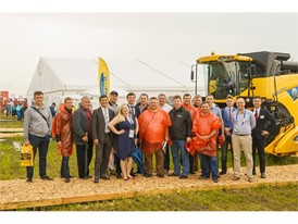 New Holland Agriculture's advanced farming technologies showcased at All- Russia Field Day 2017