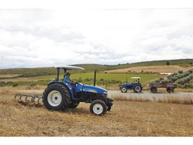 TD90 tractors help Government's agricultural modernisation program