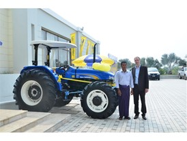 Delivery of TD90 Tractors