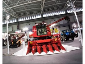 Case IH Axial-Flow Combine